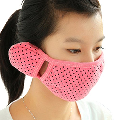 Price comparison product image Brave Tour Cold-proof Mask Earmuff Cycling Hiking Warmer Mask (Red)