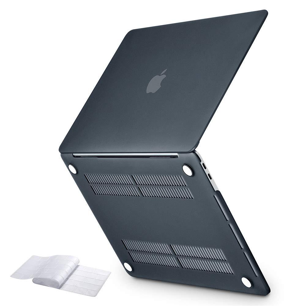 """Funda Slim Snap A1989//A1706//A1708 Negro ESR Funda R/ígida para MacBook Pro de 13/"""" con//sin Touch Bar versi/ón 2019//2018//2017//2016 Cubierta Protectora para Teclado"""