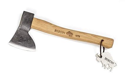 Amazon.com: Bison 1879 Hunter forjado a mano, cabeza de 500 ...