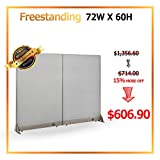 [ December Promotion] GOF Office Freestanding Partition Room divider Wall divider Wall panel Office Wall (72 X 60)