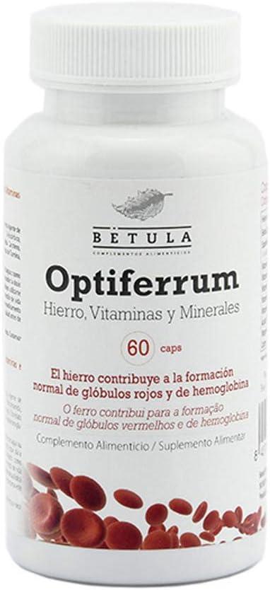 Betula Optiferrum, 60 cápsulas, 30 g