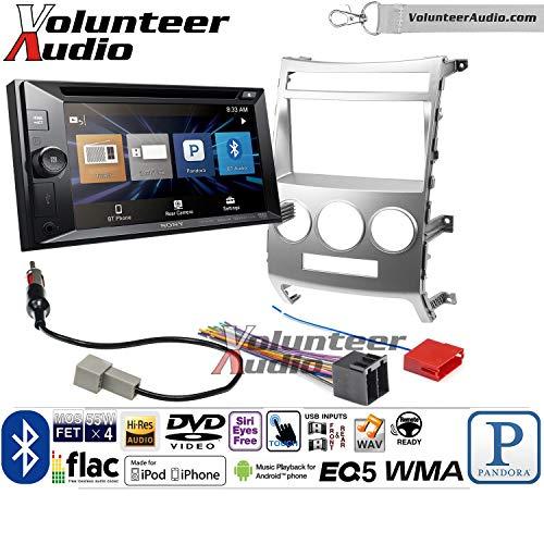 - Volunteer Audio Sony XAV-W651BT Double Din Radio Install Kit with Bluetooth USB AUX Fits 2007-2012 Hyundai Veracruz (Manual A/C Controls)