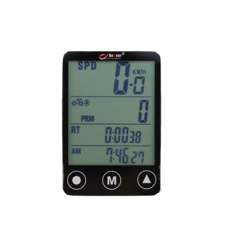 SZJ Wireless Bike Computer Car Accesorios equitación código Tabla Bicicleta de montaña Luminosa Chino Pantalla táctil multifunción cuentakilómetros de Bicicleta Impermeable