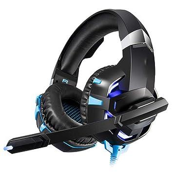 PS4 Gaming Auriculares,Diadema Cerrados con Micrófono USB Estéreo ...