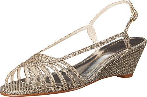 Caparros Women's Tango Dress Sandal, Champagne - 7.5 B(M) US