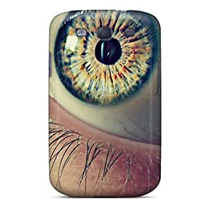 New Style Tpu S3 Protective Case Cover/ Galaxy Case - Eye Macro