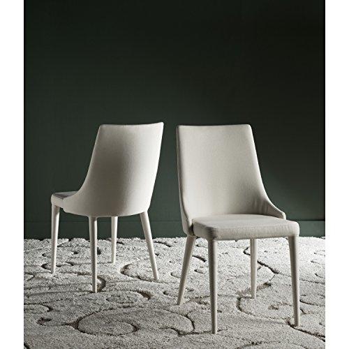 Safavieh Home Collection Summerset Linen Beige Side Chair (Set of - Collection Summerset