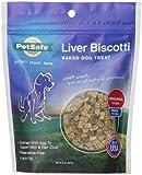 Petsafe Liver Biscotti Dog Treats, Original Recipe, Small Bite Size, 8 oz. Bag
