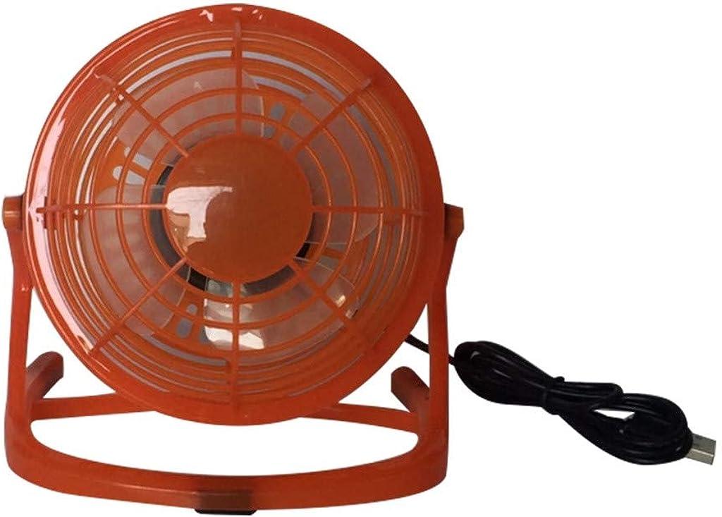 Ni_ka - Mini ventilador de bolsillo, ventilador de mesa oscilante, ventilador USB recargable, con vaporizador y enfriador para viajes, camping y exterior naranja Talla única: Amazon.es: Ropa y accesorios