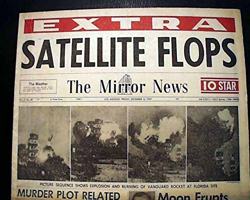 Image result for satellite blew up on the launch pad in 1957