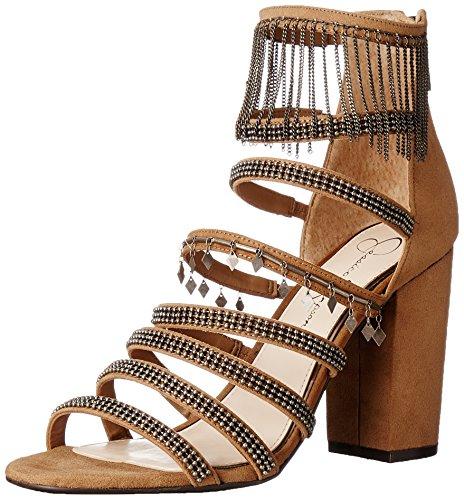 Jessica Simpson vestido katalena Sandal Marrón miel