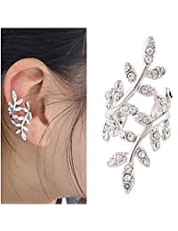 XY Fancy Fashion (Tree) Alloy Ear Cuff Silver Color (1 Pc)