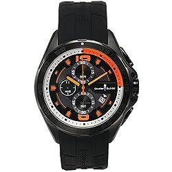 Studer Schild Men's Cantor Miyota OS10 Quartz Watch with Silicone Strap (Model: 62625386