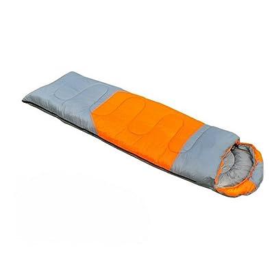SHUIDAI Camping/plein air sac de couchage/chaud/adulte , camel orange 1.8kg , (190+30) *75