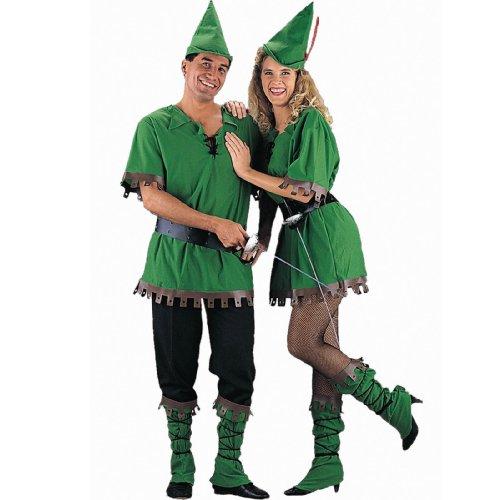Charades Men's Robin Hood Costume, As As Shown, Medium]()
