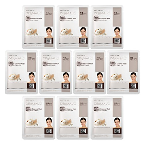DERMAL Collagen Essence Facial Mask Sheet - Pearl