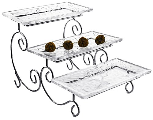 3 tier cheese trays - 8