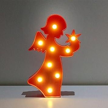 Led Lampe Flamingo Kleinen Laterne, Dekoration Kinder Geschenk Schlafsaal Schlafzimmer  Lampe, Rosa Engel