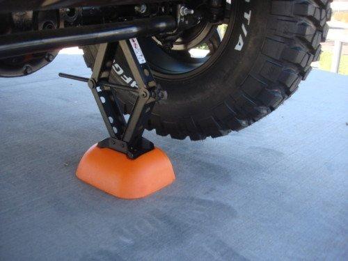 Jeep Wrangler Spare Tire JACK BASE BOOSTER, OE Mopar (Wheels Aev)