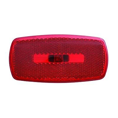 Optronics MC32RBS Mark Light Oval Black Base Red: Automotive