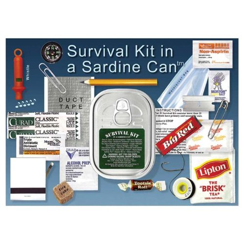 - Whistle Creek Survival Kit in a Sardine Can