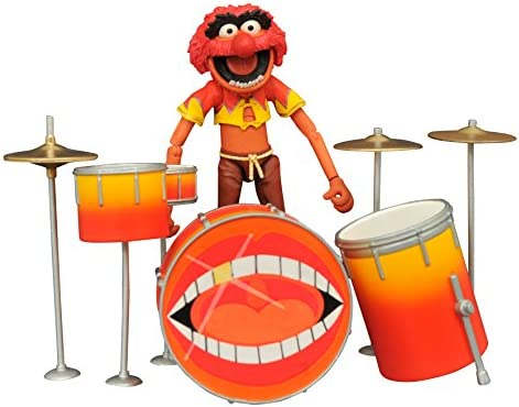 Animal /& Drum Kit Select Action Figure Diamond Select Toys The Muppets