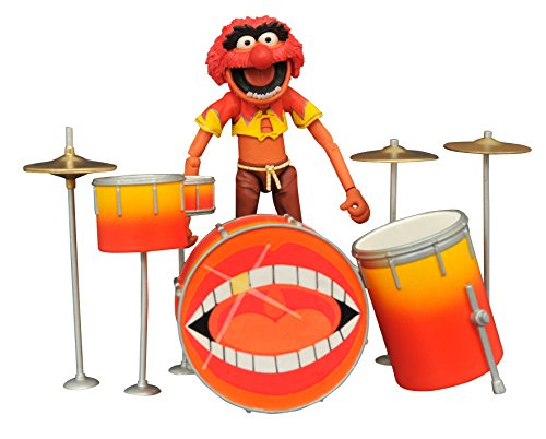 Diamond Select Toys The Muppets: Animal & Drum Kit Select Action Figure