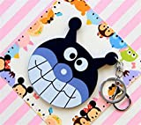 Yingealy Childrens Mirror Mini Cartoon Bacterial Shape Pattern Small Glass Mirrors Circles for Crafts Decoration Cosmetic Accessory