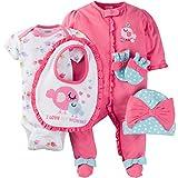 Gerber Baby Girls' 2-Pack Sleep 'N Play, Little