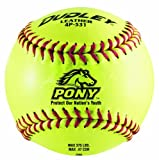Dudley 11'' PONY Thunder Heat Leather Fastpitch Softball - pack of 12