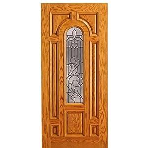 Mahogany Traditional Entry Door 525-A OAK - AAW Doors Inc.  sc 1 st  Amazon.com & Mahogany Traditional Entry Door 525-A OAK - AAW Doors Inc ... pezcame.com