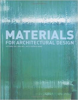 materials for architectural design /anglais: Ballard Bell Rand:  9781856694803: Amazon.com: Books
