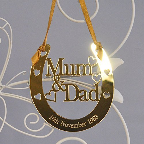 Golden Wedding Gift Ideas Uk: 50th Anniversary Gifts For Parents: Amazon.co.uk