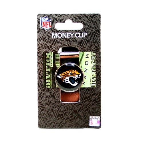 aminco NFL Jacksonville Jaguars Domed Money Clip