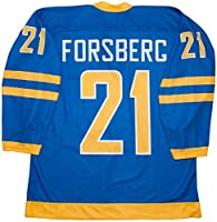 Peter Forsberg Team Sweden Blue Hockey Jersey