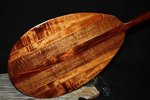 TikiMaster Premium Multi Stringers Koa Paddle 50