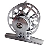 Full Metal Fly Fishing Reels Aluminum Alloy Machine Cut Former Ice Fishing Vessel Wheel HI45R 0.30/100(mm/m) Gear