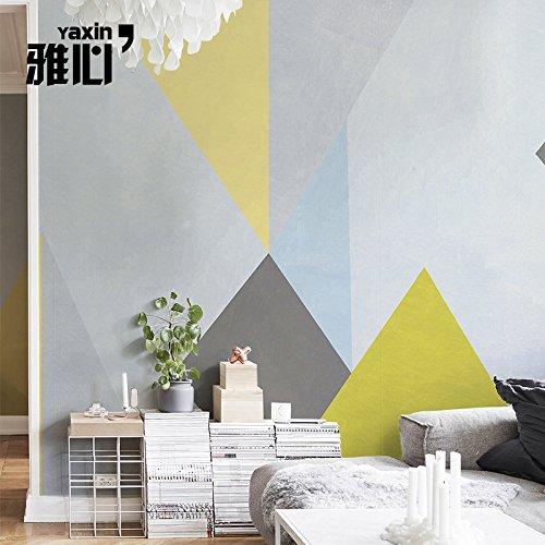 HANHUAN アールデコ様式のフレスコ画の壁紙の壁画防水カスタマイズ可能なサイズの東洋の図形の背景の壁のモダンな使いやすいテレビの背景の家の装飾のシームレスな Non-Toxic 環境保護バスルーム/レストラン/バー/ホール/リビングルーム/玄関/キッチン/オフィス/ベッドルーム、 150 x 105 cm B07DL61KYZ 150x105cm|A