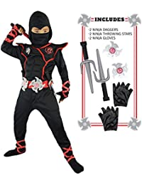 Boys Ninja Deluxe Costume for Kids