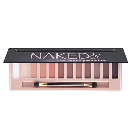 Paleta de sombras de ojos profesional de ZEZKT-Beauty con 12 ...