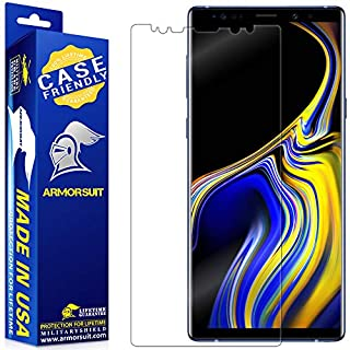 ArmorSuit MilitaryShield Screen Protector Designed For Samsung Galaxy Note 9 (Case Friendly) Anti-Bubble HD Clear Film