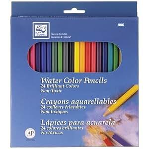 Loew-Cornell Watercolor Pencils, 24-Pack