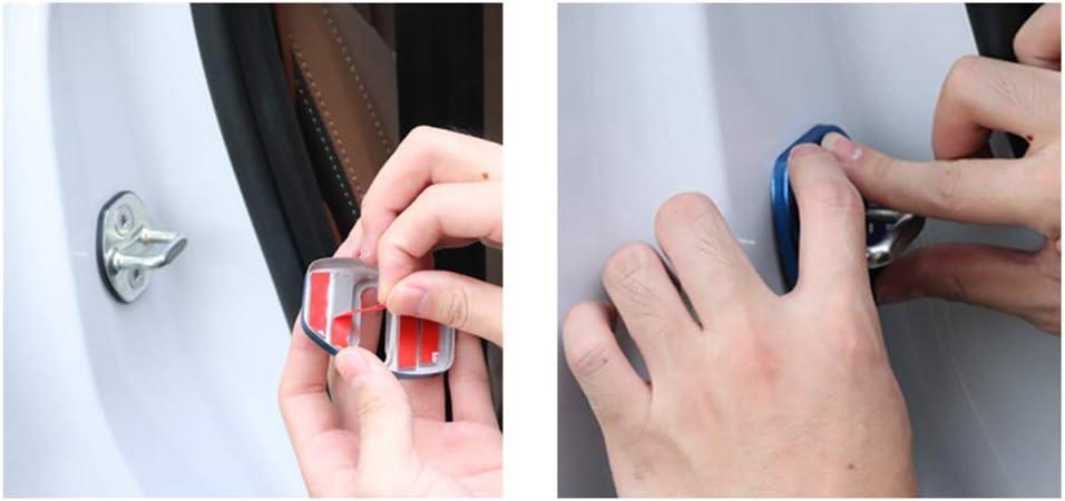pour Mercedes-Benz GLC X253 C253 2015-2018,4 pi/èces Couvercle de Serrure de Porte de Voiture Anti-Rouille Style de Voiture DYBANP Couvercle de Serrure de Porte de Voiture