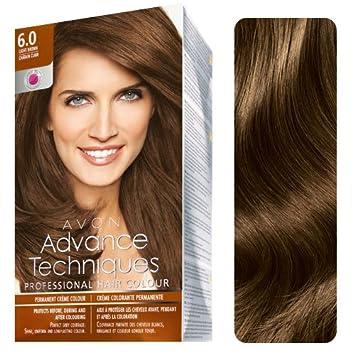 Amazon.com : Avon Advance Techniques Professional Hair Color LIGHT ...