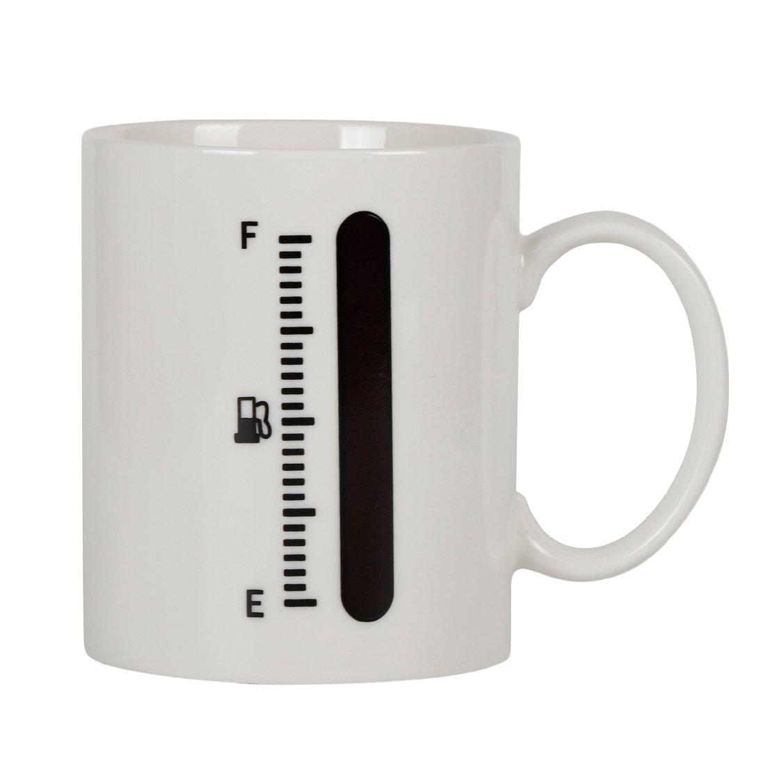 【超ポイント祭?期間限定】 momugs Cup B0784SCTBH 1ピース色変更する温度計熱Sensitive磁器ティーコーヒーマグ12オンスタンクUp燃料ゲージ熱Sensitive momugs Cup B0784SCTBH, Noone:8147c5bd --- beyonddefeat.com