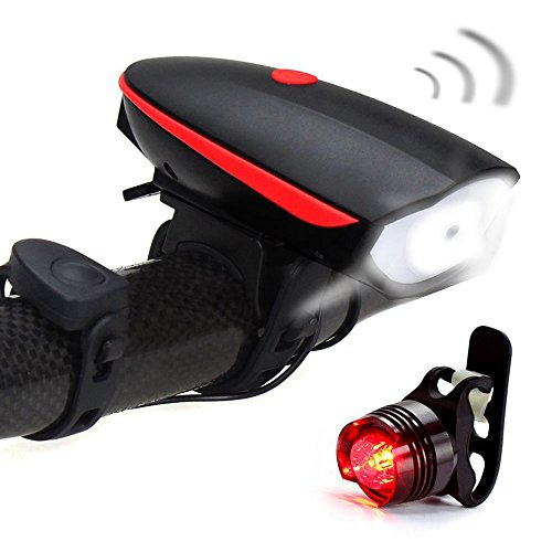 Fineed Headlight Rechargeable Taillight Waterproof