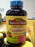 Product review for Nature Made Cranberry 450mg Extract 180 Softgels