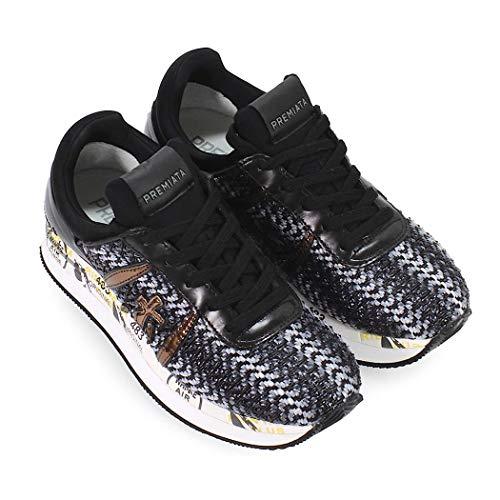 Invierno Zapatilla Zapatos Negro Otoño Gris 2549 2019 Premiata De Liz Mujer qqExrOz4