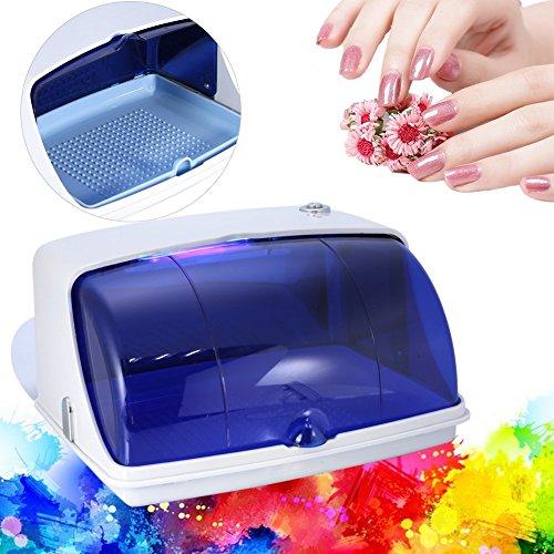 (Salon UV Sterilizer, Professional Ultraviolet Disinfection Sterilizer Temperature Sanitizer Cabinet(US Plug))