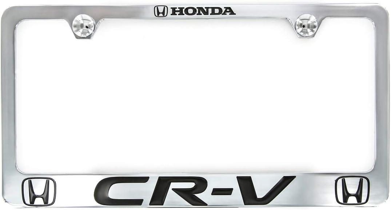 Honda CR-V Chrome Plated Zinc License Plate Frame Holder Baronlfi